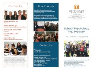 School Psychology Brochure