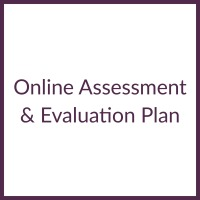 Online Assessment & Evaluation Plan square